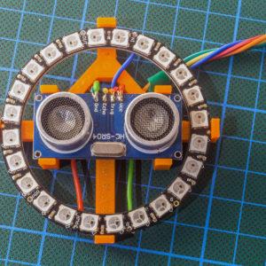 sonar neopixel front