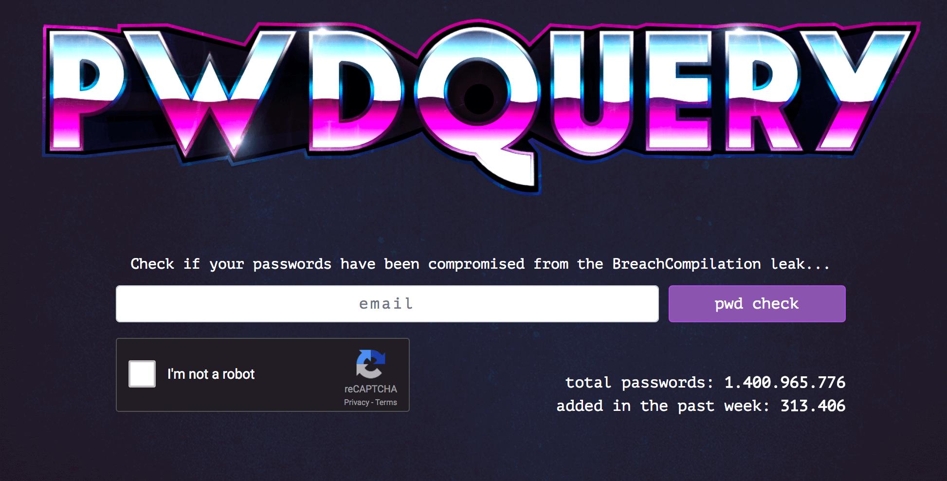 pwdquery v2