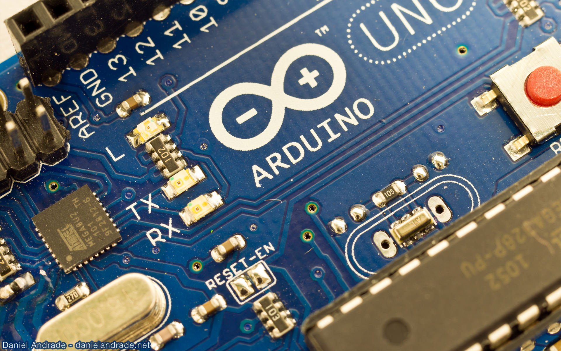 Arduino in highdef macro pictures daniel andrade